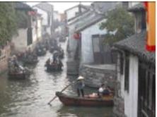 Canal tour boats China