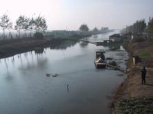 China fishing scene