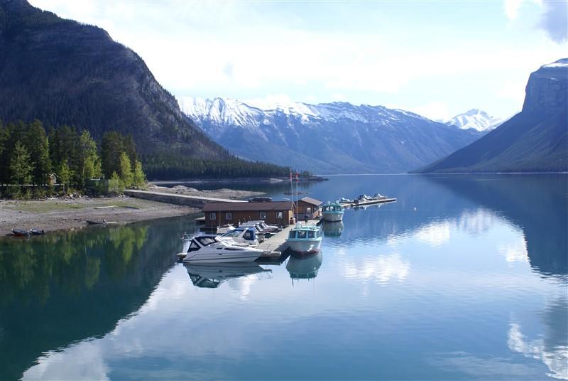 Boats in Rockies